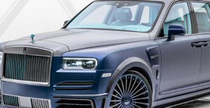 曼索里Mansory对劳斯莱斯库里南Rolls-RoyceCullinan确实做了一些坏事