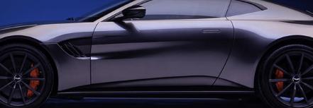 2021年阿斯顿马丁VantageCoupe配备手动变速箱