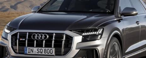 2020年配备500匹马力V8发动机的奥迪SQ8和SQ7即将问世