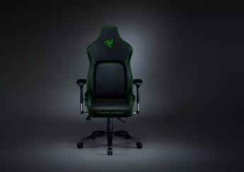 Razer的第一款游戏椅具有独特的悬挂式枕头