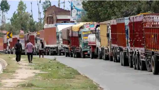 西孟加拉邦约有60万卡车司机进行了72小时的罢工