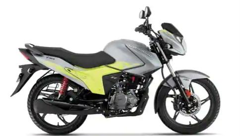 英雄摩托车公司推出魅力大火在 ₹ 72000