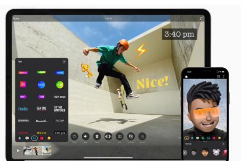 苹果为iPhone 12更新了具有HDR录制的剪辑