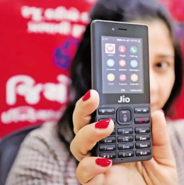Jio计划以每部2500-3000卢比的价格出售5G智能手机