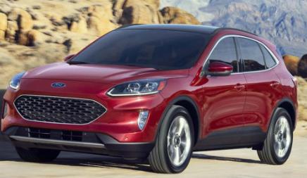 经过重新设计的2020年福特Escape的起步价将比去年秋天的车型高出780美元