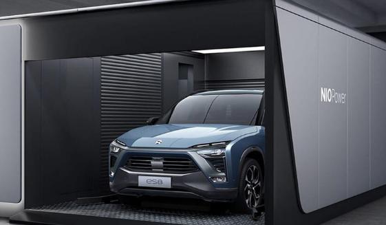 中国电动汽车制造商蔚来汽车报告收益时应注意什么