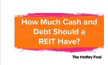 房地产投资信托应该有多少现金和债务