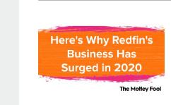 这就是房地产公司Redfin的业务在2020年激增的原因