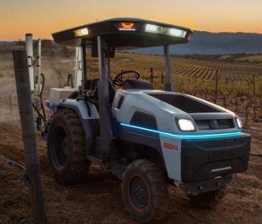 电动自主Monarch拖拉机被誉为世界上最智能的拖拉机