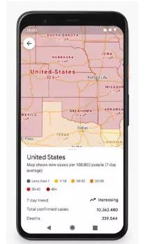 谷歌Maps更新以显示公共交通的拥堵程度
