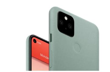 谷歌Pixel 6可能配备内置显示屏的自拍相机
