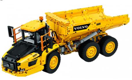 乐高技术的新型6×6沃尔沃铰接式搬运车即将问世