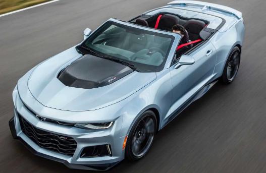 雪佛兰Camaro的销售在2020年下降了38.3%