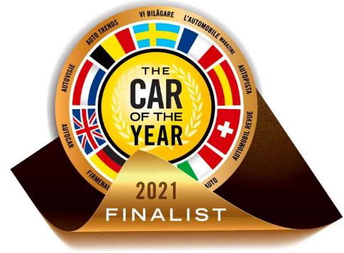 这是2021年度欧洲最佳汽车入围名单
