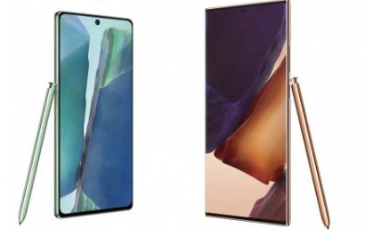 Galaxy Note 20和20 Ultra是三星最大最漂亮的非折叠手机