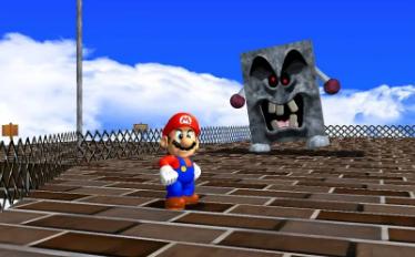 Modders推Mario 64使其看起来像令人难以置信的宣传艺术