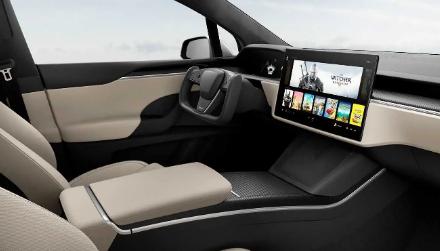 新的特斯拉Model S和X没有档位选择器