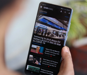 最新的三星Galaxy S20 One UI 3.0测试版现已发布