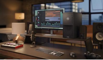 戴尔重新设计的XPS台式机和显示器功能强大而时尚
