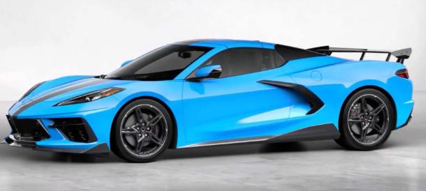 多年缺席后再次提供流行的Corvette C8选装件