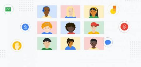 谷歌Meet宣布针对教师的新审核控制和自定义背景