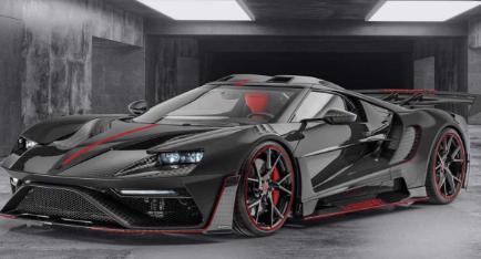曼索里建造了第二辆勒芒索里福特GT这次是黑色