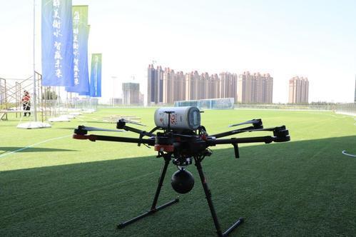 今年虹口还将继续利用5G无人机红外成像技术