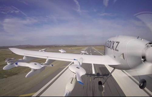 Cora是一型电动垂直起降飞机飞行高度在1500-5000英尺之间