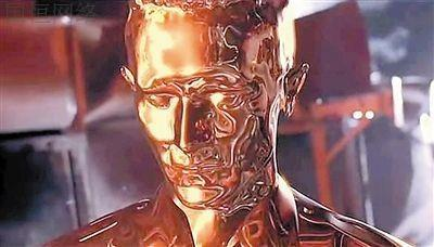 电影终结者中反派机器人T1000给观众留下深刻印象