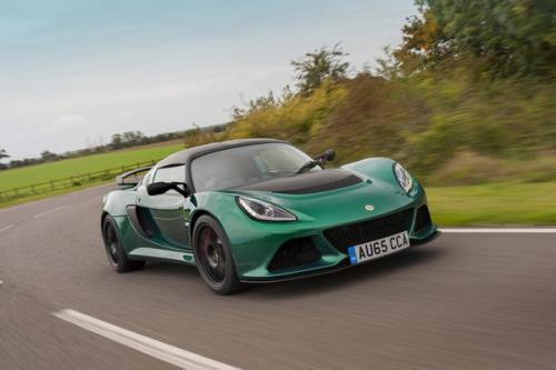 更强大的380版本的LotusExige跑车发布了