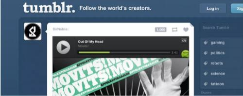 Spotify将免费音乐流传输到任何网站或博客