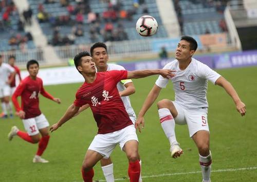 广州城队凭借新援吉列尔梅独造三球3:1战胜重庆两江竞技