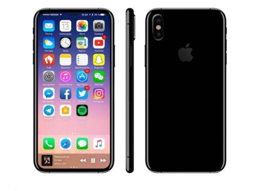 这表明可以预测两种不同尺寸的iPhoneX样式的显示器