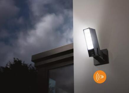 Netatmo户外安全摄像机内置警报器