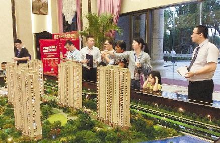 江门市虽然多个楼盘推出优惠促销活动但部分楼盘看房量较假期前有所减少