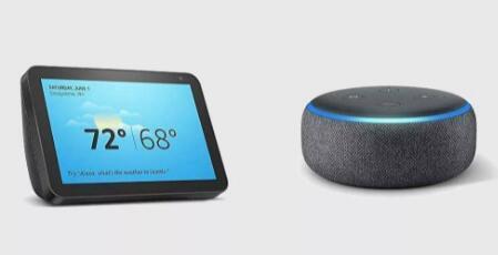 以79点99美元的价格购买EchoShow8和第三代EchoDot智能扬声器