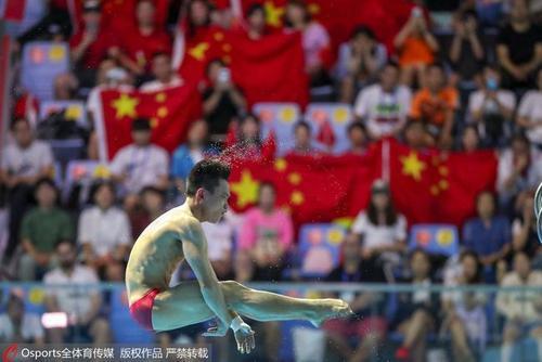 全运会跳水资格赛11日晚间在上海东方体育中心落下帷幕