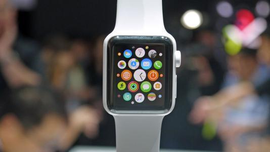 锻炼角落的一点覆盖物显示了AppleWatch的关键数据