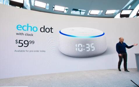 亚马逊活动中最聪明的事情是EchoDot上的愚蠢时钟