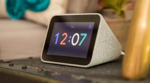联想智能时钟现在可以兼作数码相框