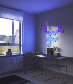 Nanoleaf在CES上首次亮相六边形灯板