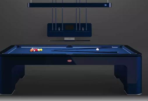 布加迪和碳纤维公司IXOCarbon开发了一种高科技和最先进的台球桌