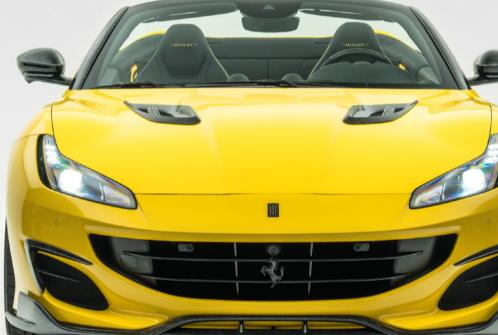 Mansory Ferrari Portofino 搭载深色碳纤维599 GTO 速度快