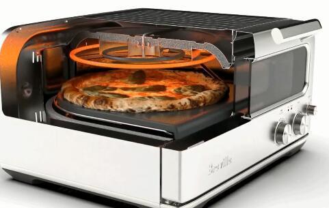 布雷维尔的精美披萨烤箱将热量带回家