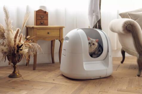PetatoFootloose猫砂盆可为多只猫提供健康追踪
