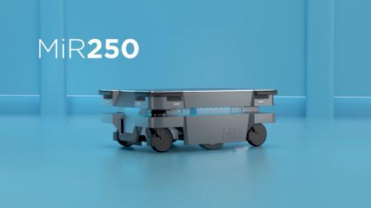 MiR250Hook即可识别每个推车或运输货架
