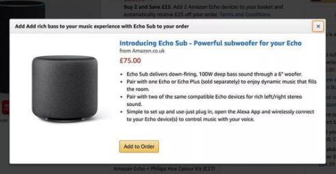 亚马逊只是不小心透露了Echo低音炮和智能插头