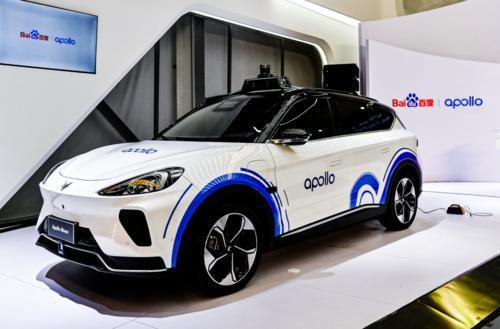 ApolloMoon共享无人车是以ARCFOX极狐阿尔法T为载台打造而成