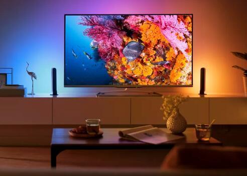飞利浦Hue的最新智能灯即将为您的电视推出