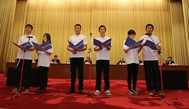 甘肃省50所高校师生代表参加线下活动各高校设立分会场在线收看